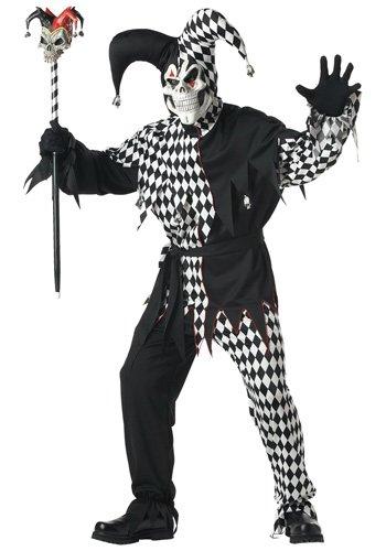 adult evil jester costume 1 - КОМНАТА СТРАХА НА ХЭЛЛОУИН