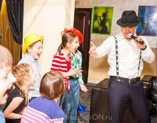 ДЕТСКИЙ ДЕНЬ РОЖДЕНИЯ В СТИЛЕ ГАНГСТЕРОВ