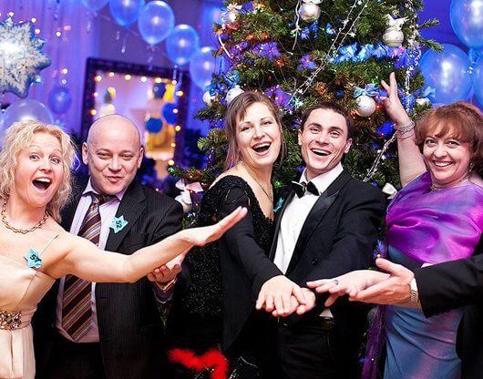 Организация праздника в Новогоднем стиле