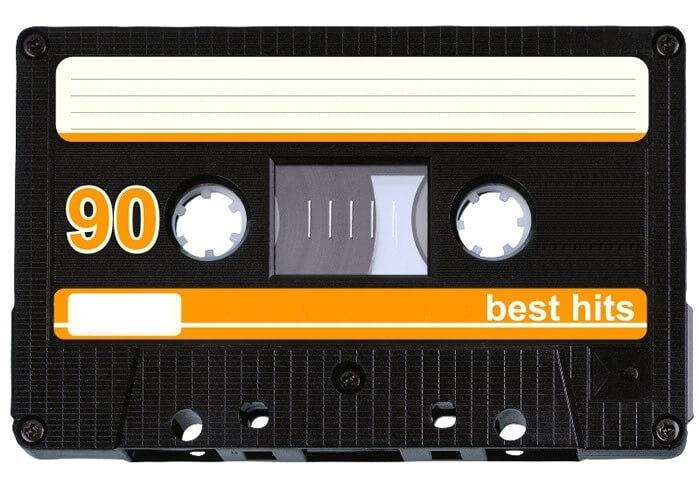kasseta 1 - ПРИГЛАШЕНИЕ НА ВЕЧЕРИНКУ В СТИЛЕ 90-Х